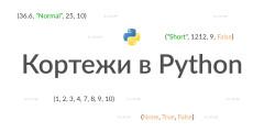 Кортежи в Python
