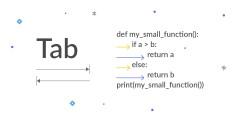 Python табуляция